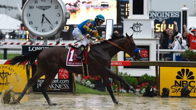 Late ship to Belmont gives 'Pharoah' connections an easy out