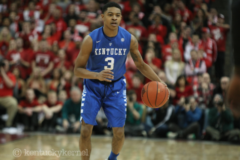Returning PG Tyler Ulis looks to lead the Cats back to the Final 4 in 2016 (Kentucky Kernel Photo)