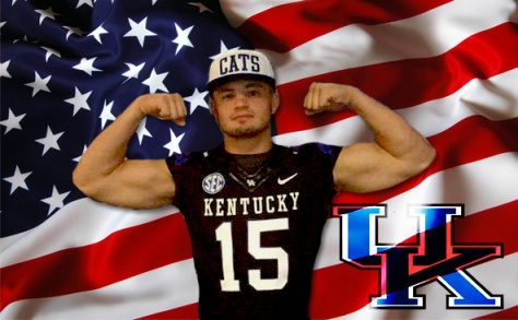 Four-star Linebacker Kash Daniel became the newest edition to Kentucky's 2016 football class Saturday (Kentucky Sports Radio photo)
