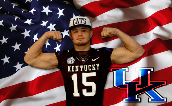 Four-star Linebacker Kash Daniel became the newest edition to Kentucky's 2016 football class Saturday (Kentucky Sports Radio photo)