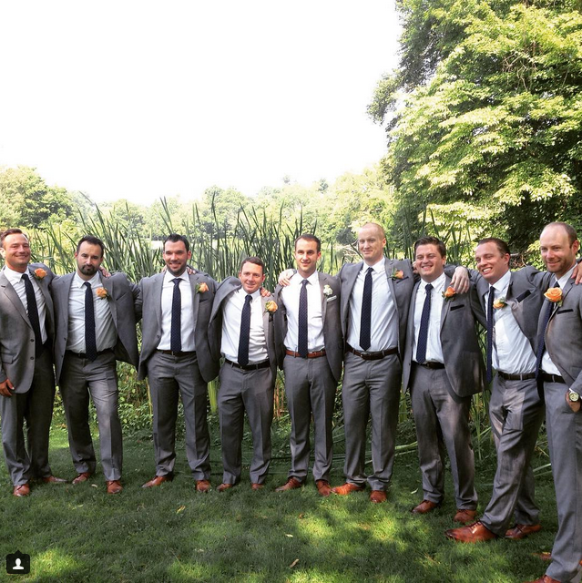 Phil and his groomsmen at Cherokee Golf Course in Louisville, Ky.