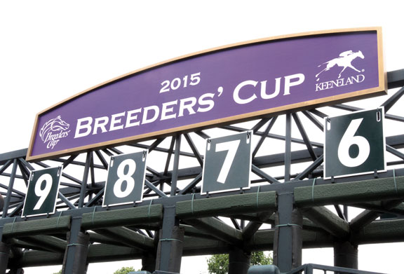 2014 Keeneland Press Conference announcing the arrival of 2015 Breeders' Cup at Keeneland