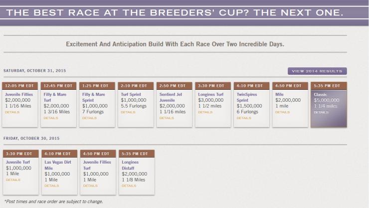 BC Schedule