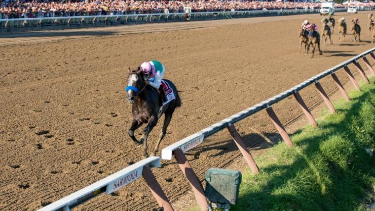 Arrogate Smashes Track Record in Travers
